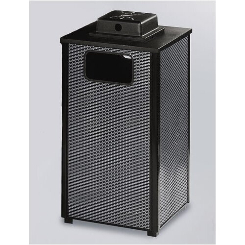 Rubbermaid Commercial Products Dimension 500 Series 24 Gal. Weather Urn Ash/Trash Receptacle