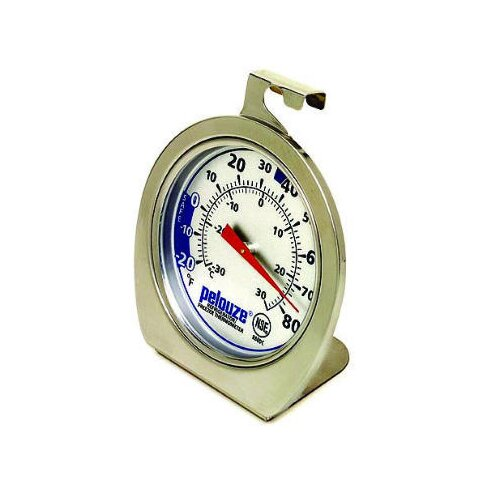 Rubbermaid Commercial Products Refrigerator / Freezer Monitoring Thermometer (-20°F to 80°F)