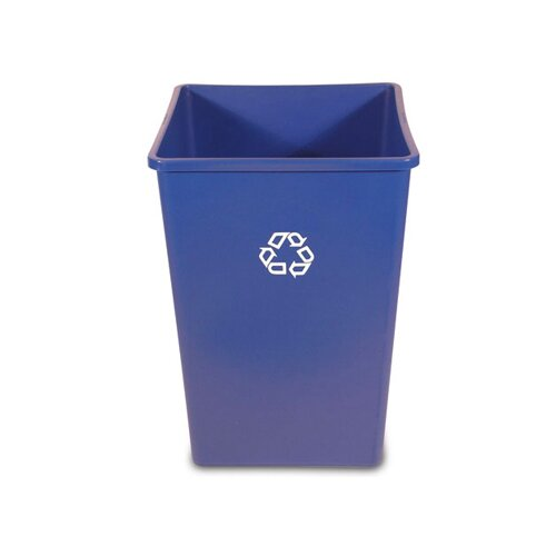 Rubbermaid Commercial Products 35 Gallon Industrial Recycling Bin