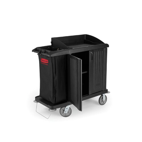 "Rubbermaid Commercial Products 50"" Multi-Shelf Cleaning Cart"