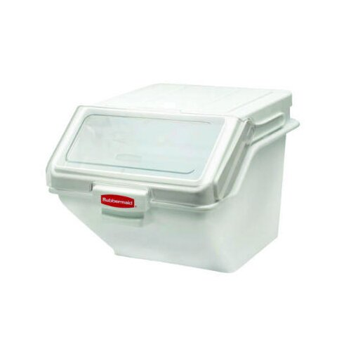 Rubbermaid Commercial Products ProSave Shelf Ingredient Bin in White
