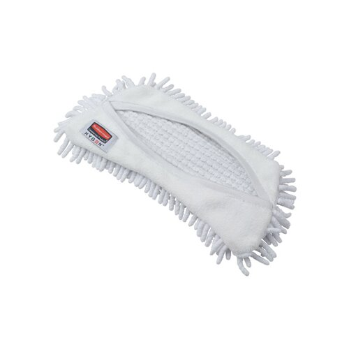 Rubbermaid Commercial Products Hygen Flexi Frame Damp Microfiber Mop Covers in White
