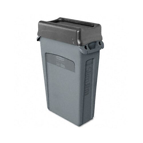 Rubbermaid Commercial Products 23-Gal. Slim Jim Rectangular Receptacle