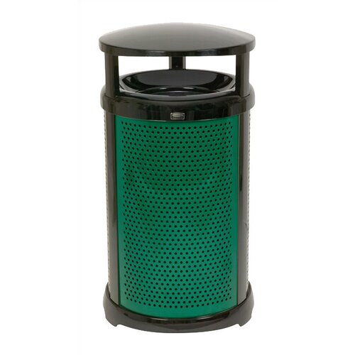 Rubbermaid Commercial Products Round Dome Top Waste Container Frame - 32 Gallon