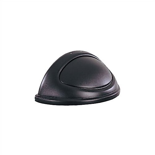 Rubbermaid Commercial Products Untouchable Half Round top with Swing Door