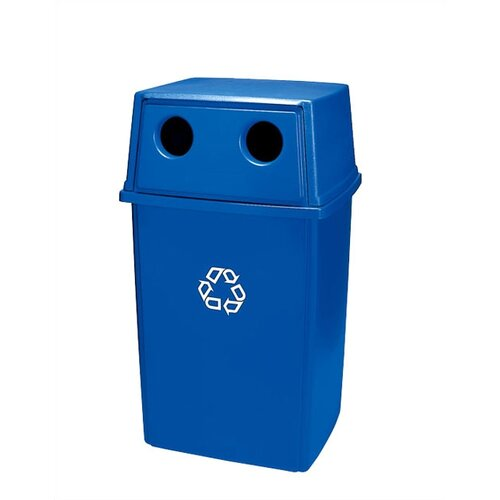 Rubbermaid Commercial Products Glutton Bottle and Can Recycling Bin Top