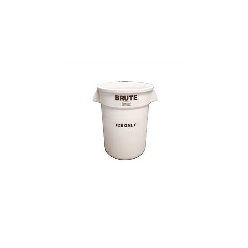 "Rubbermaid Commercial Products Brute ""Ice Only"" Container - 10 Gallon"
