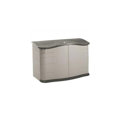 Rubbermaid Commercial Products Home Horizontal 4.5ft. W x 28in. D Storage Shed