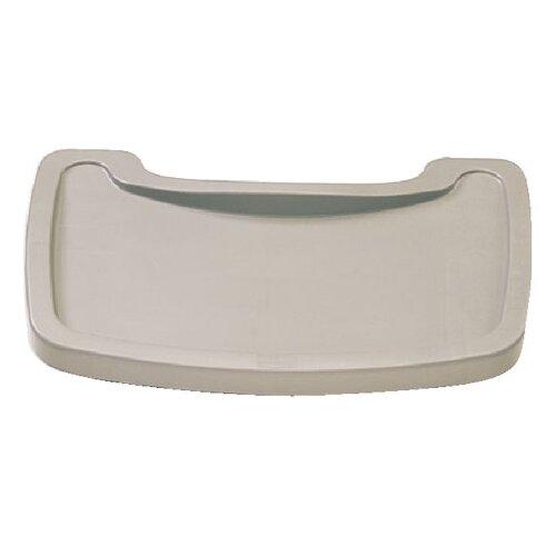 Rubbermaid Commercial Products Sturdy Microban Youth Seat Tray Plastic in Platinum