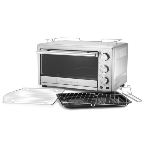 Wolfgang Puck® 0.8-Cubic Foot Convection Toaster Oven
