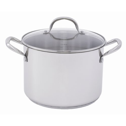 10-qt. Stock Pot with Lid