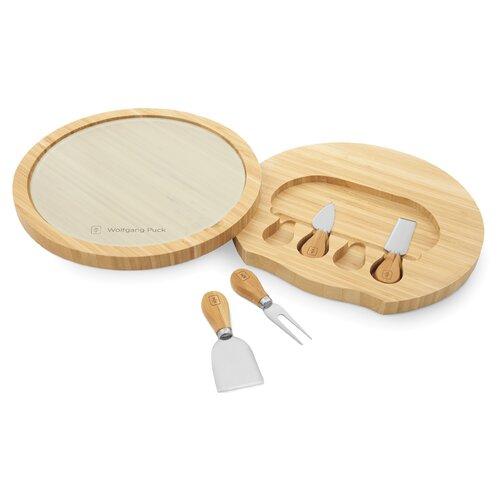Wolfgang Puck® 5 Pieces Bamboo Cheese Board