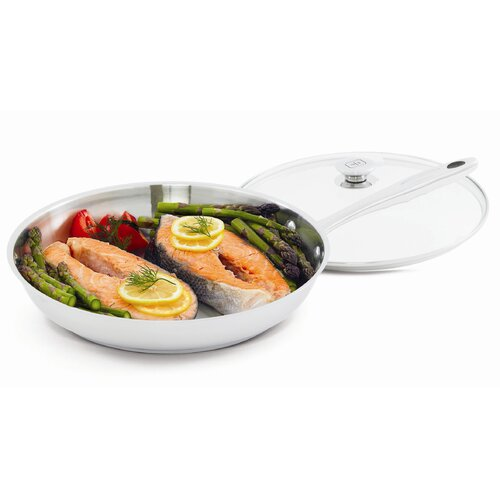 """Wolfgang Puck® 12"""" Skillet with Lid"""