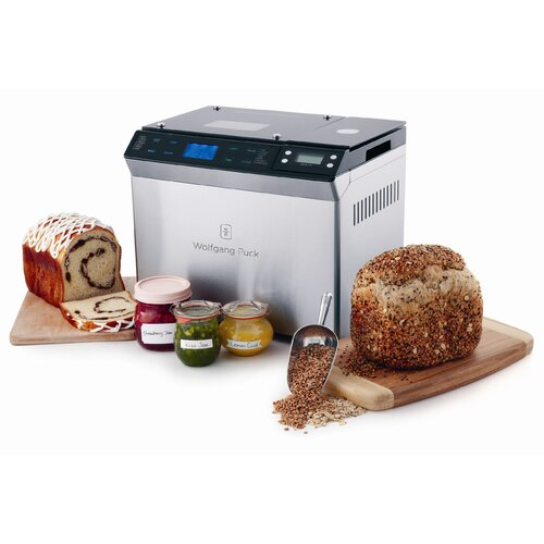 Wolfgang Puck® Bread Maker with Automatic Fruit and Nut Dispenser