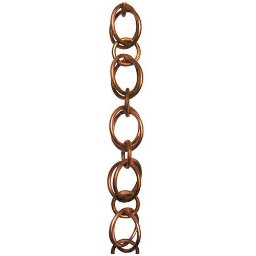 Double Loop Rain Chain