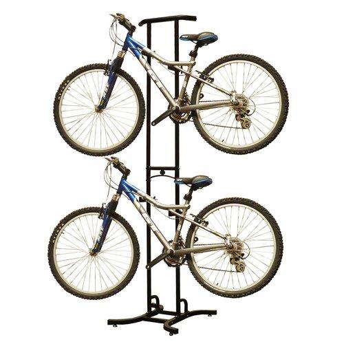 Stoneman Sports Sparehand Double Bike Rack-820 in Black