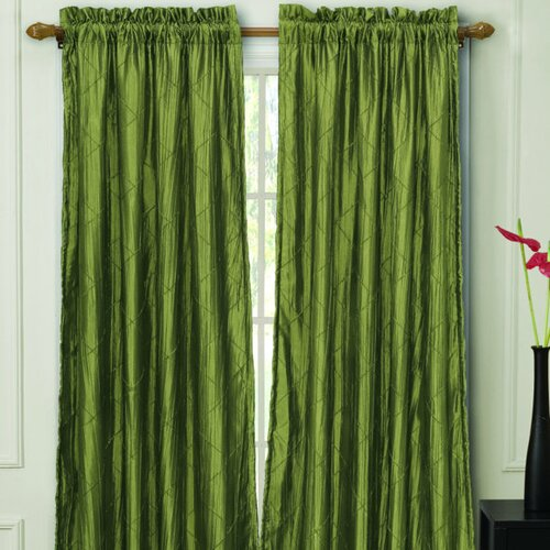 Victoria Classics Nathan Lined Rod Pocket Single Curtain Panel Reviews Wayfair
