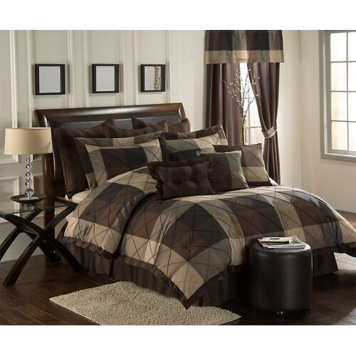 Fancy Bedroom Chairs Modern Zen Bedroom Rustic Chic Bedroom Decor Exclusive Bedroom Sets: Carlton 10 Piece Comforter Set
