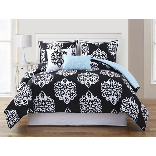 Dalton 5 Piece Reversible Comforter Set