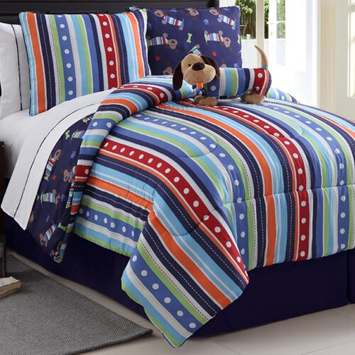 Dog Reversible Comforter Set