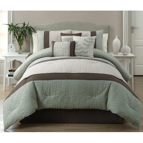 Hillside 7 Piece Comforter Set