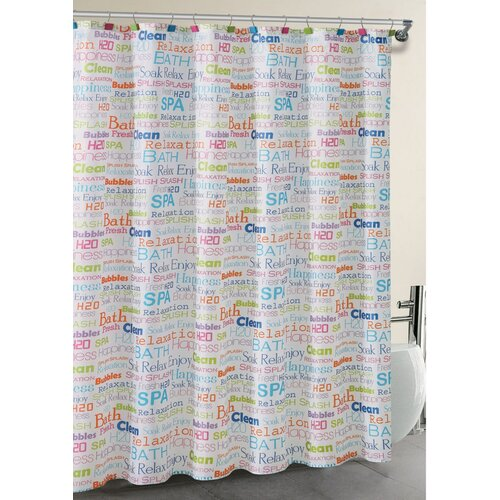 SPA Collage 13-Piece Shower Curtain Set