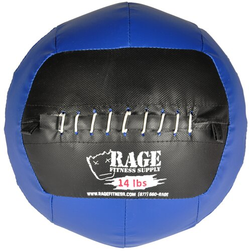 Muscle Driver USA 14 lb Rage Ball in Blue
