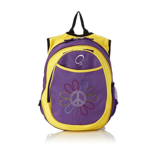 Obersee Kids All in One Pre-School Peace Flower Cooler Backpack