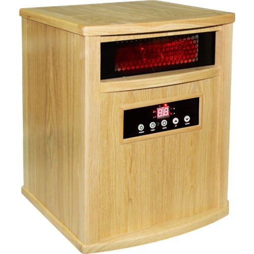 Titanium 1,500 Watt Infrared Cabinet Portable Space Heater