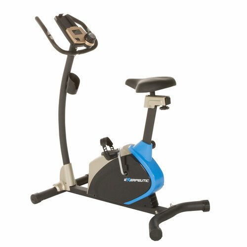 2000 Magnetic Upright Bike with Super Oversized Seat And Heart Pulse