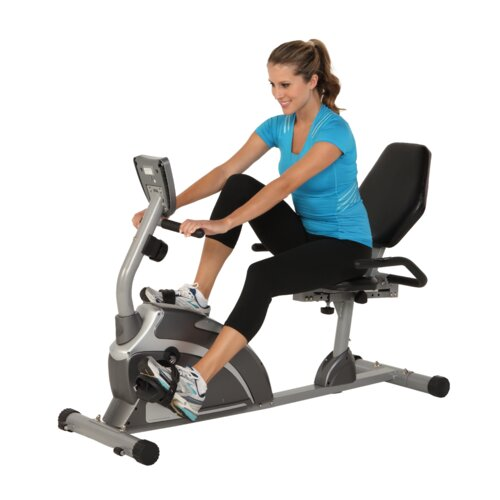 Exerpeutic 900xl Extended Capacity Recumbent Bike With
