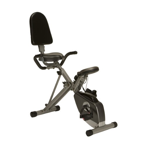 Exerpeutic Fitness 400XL Space Saver Recumbent Bike