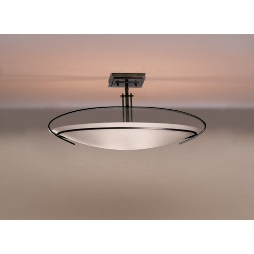Mackintosh Oval 2 Light Semi Flush Mount