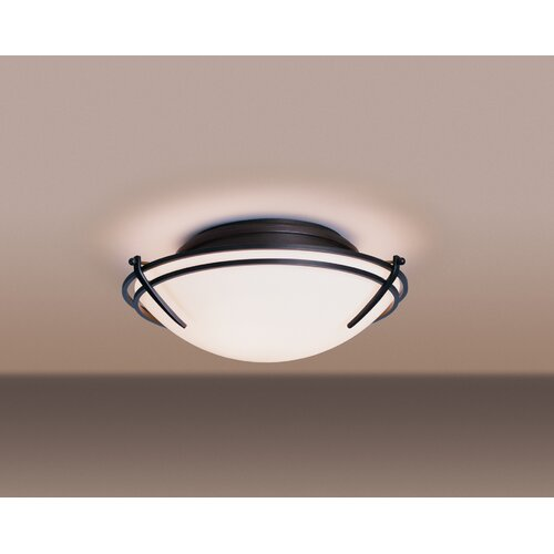 Hubbardton Forge Tryne 2 Light Flush Mount