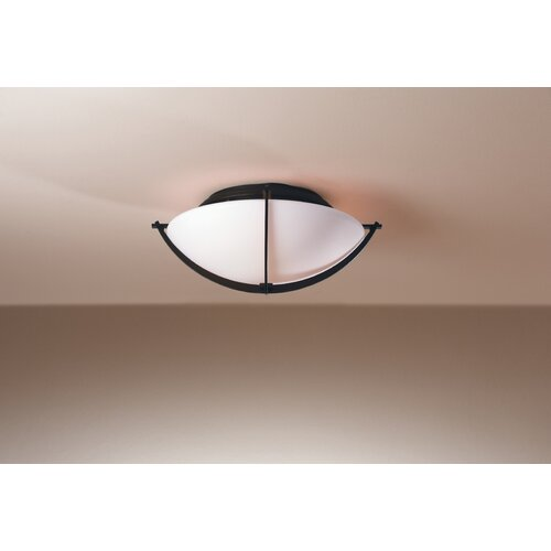Hubbardton Forge Compass 2 Light Flush Mount