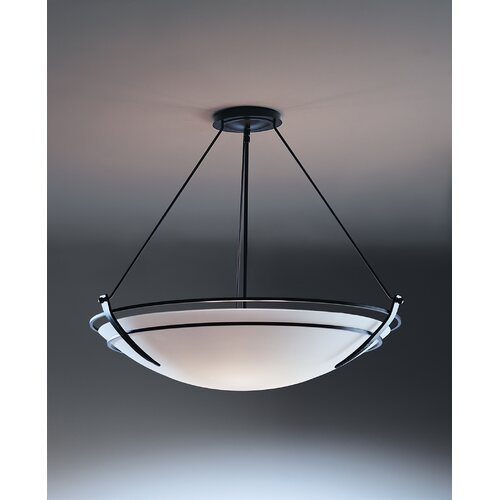 Hubbardton Forge Presidio 3 Light Inverted Pendant
