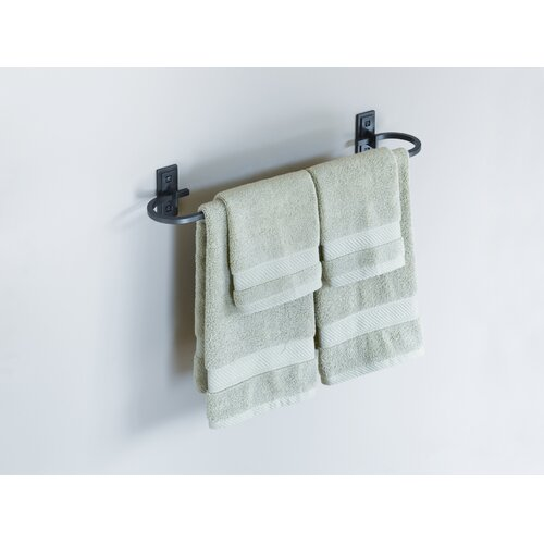 """Hubbardton Forge Wall Mounted 21"""" Curved Towel Holder"""