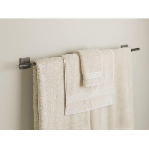 """Hubbardton Forge Beacon Hall 38.3"""" Wall Mounted Towel Bar"""