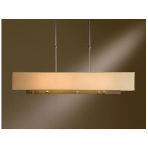 Hubbardton Forge Fullered Notch 4 Light Pendant