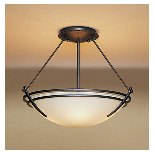 Hubbardton Forge Presidio Medium 2 Light Semi Flush Mount