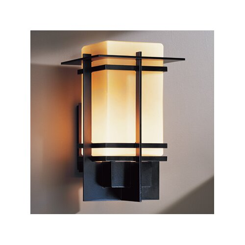 Hubbardton Forge Alum Box 1 Light Outdoor Wall Sconce