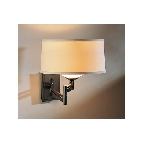 Hubbardton Forge Bowed Right Swing Arm Wall Sconce