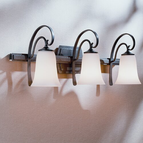 Hubbardton Forge Scroll 3 Light Wall Sconce