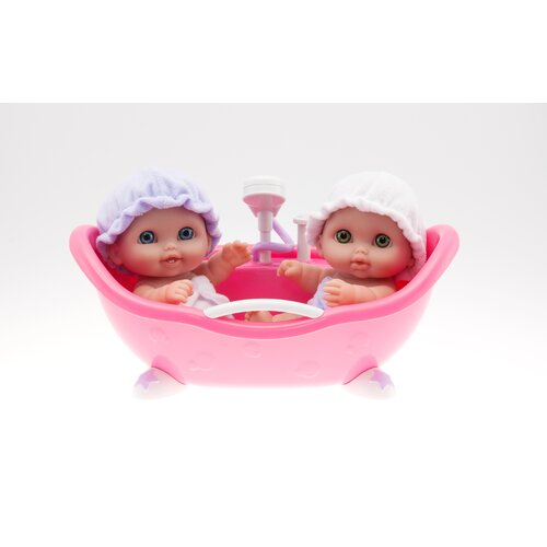 JC Toys Lil' Cutesies with Bathtub Doll