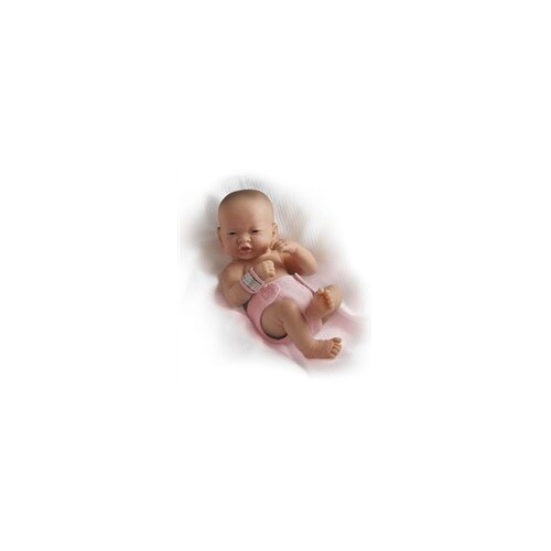 JC Toys La Newborn Asian (Real Girl!) Doll