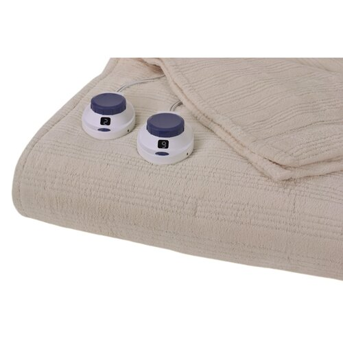 Perfect Fit Industries Triple Rib Electric Heated Warming Blanket