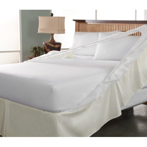 Perfect Fit Industries Tailor Fit Easy On Easy Off Bedskirt and Box Spring Protector