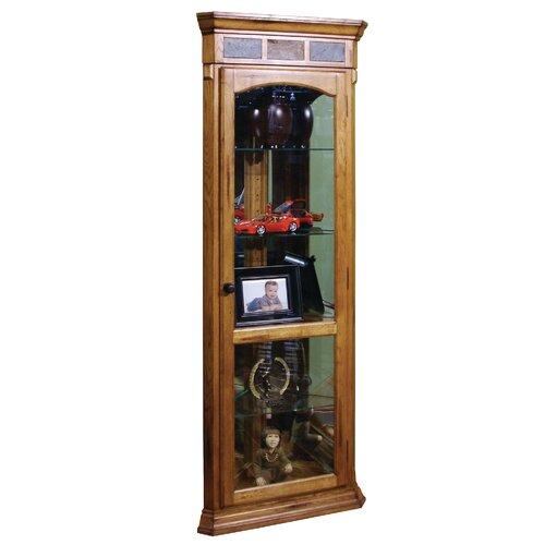 Sedona Corner Curio Cabinet