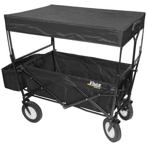 "On The Edge Marketing 24"" Folding Utility Wagon"
