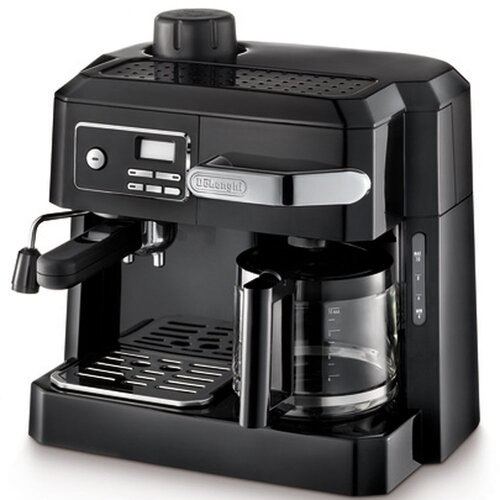 DeLonghi Combination Coffee/Espresso Maker & Reviews Wayfair